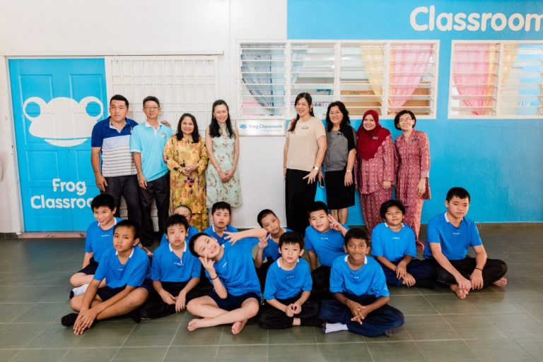 Special Needs Kids Benefit From Frog Classroom In Taiping School