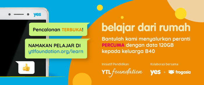 YTL Foundation providing free mobile phones to B40 families under Learn from Home Initiative